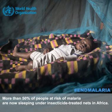 WHO End malaria