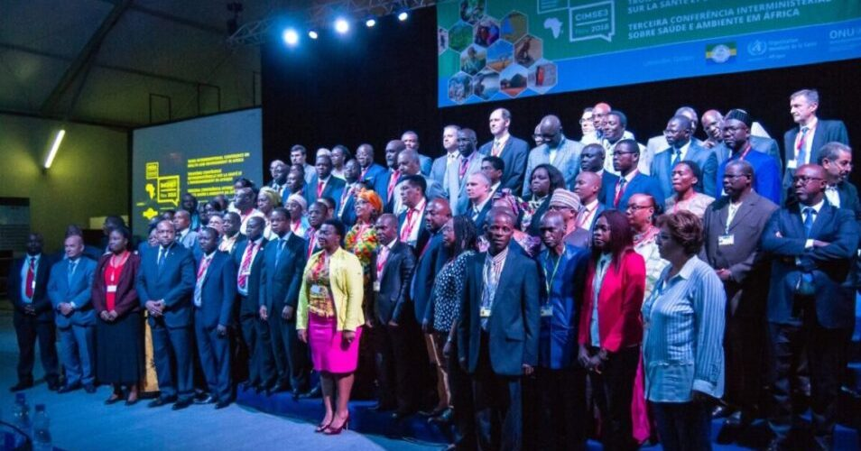 Delegates at the Third Interministerial Conference on Health and Environment in Africa (IMCHE3)